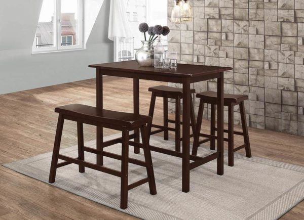 4pc dining set counter hight
