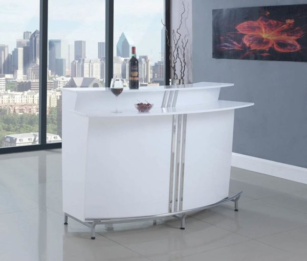 White Modern Bar