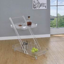 Clear Acrylic Server Tray