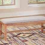 Scott Living Auburn White-Washed Bench