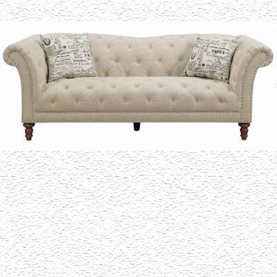 Josephine Tufted Sofa Beige Paradise
