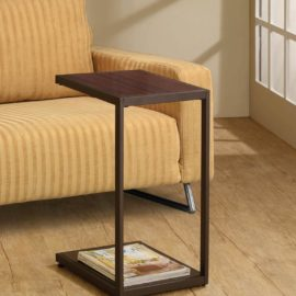 Modern brown Snack Table