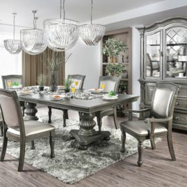 ALPENA TRADITIONAL GREY DINING TABLE COLLECTION