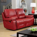 Newburg Red Loveseat