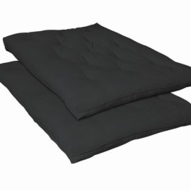 Futon Pads Black