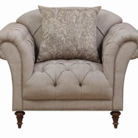 Alasdair Light Brown Arm Chair