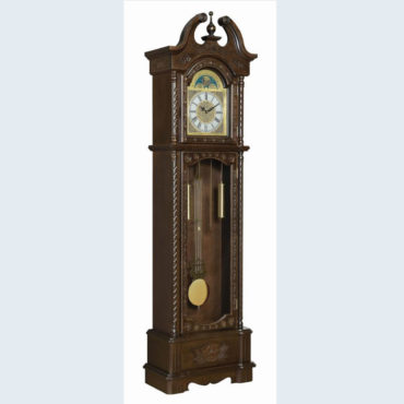 Traditional Crown Grandfather Clock