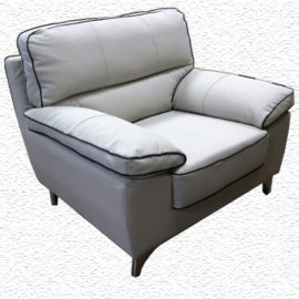 Modern Light Grey Sofa Chair