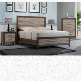 Jaren Two-Tone Bed Frame