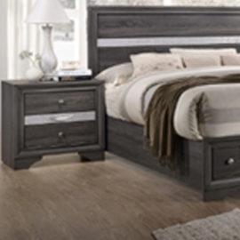 Regata Rustic Grey Bed Frame