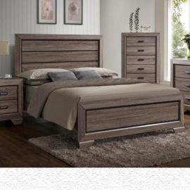 Farrow Contemporary Brown Bedroom Collection