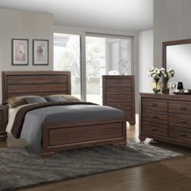 Farrow Chocolate Bed Frame