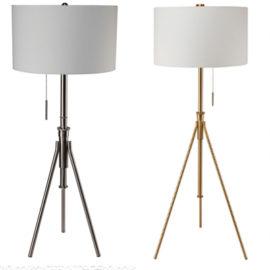 Zaya floor lamp gold silver