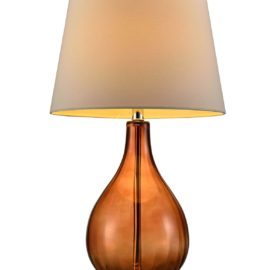 Mia Brown Glass Lamp
