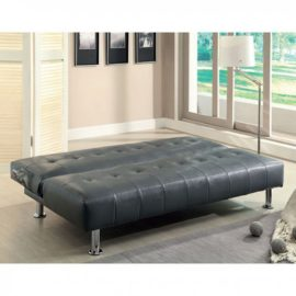 Bulle Futon Grey Sleeper Chair sofa