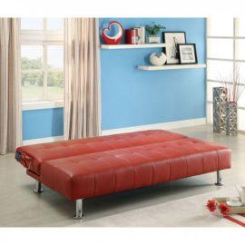 Bulle Futon Red Sleeper Chair sofa