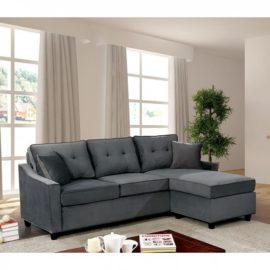 Hakin Grey Sectional Sofa Chaise
