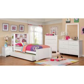 Marlee White Captain Bed