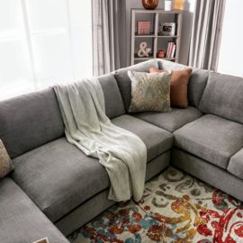 FERNDALE GREY SECTIONAL