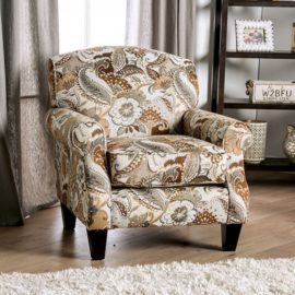 BEGLEY FLORAL CHAIR