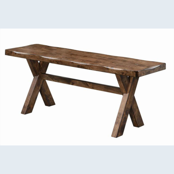 Alston Rustic Country design dining bench