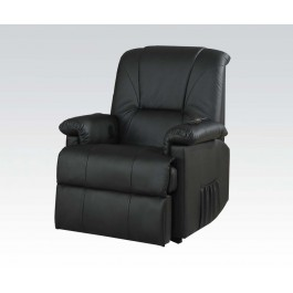 Black recliner, lifter and Massage