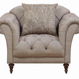 Alasdair Light Brown Arm Chair