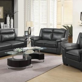 Arabella faux leather chair