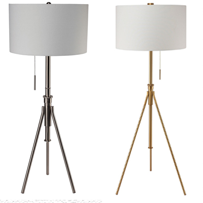 Zaya floor lamp gold silver