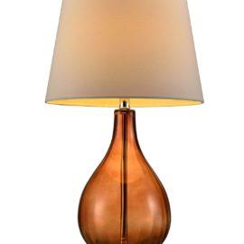 Mia Brown Glass Lamp