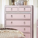 Avior Rose Pink Tufted Bed Chest