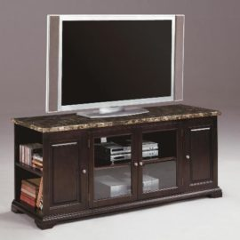 HARRIS MARBLE TOP TV STAND