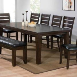 Urbana Espresso Dining Table
