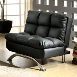 ARISTO FUTON CHAIR Black