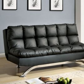 ARISTO BLACK FUTON SOFA