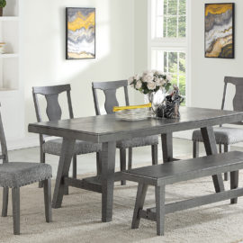 Paradise II Grey Dining Set