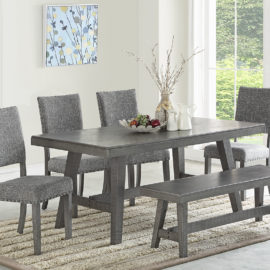 Paradise I Grey Dining Set