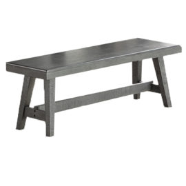 Paradise Grey Dining Bench