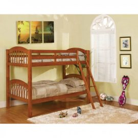 Coney Island Oak Bunk Bed