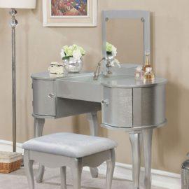 Lilita Silver Vanity Set