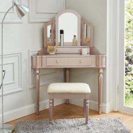 Kasey Corner Vanity Set