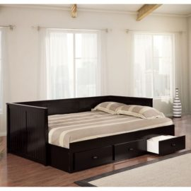 Wolford black Full Daybed