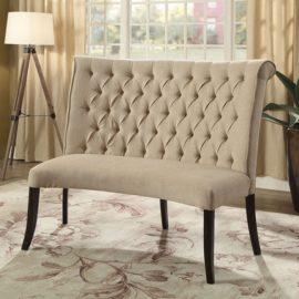 NERISSA ROUND LOVE SEAT BENCH