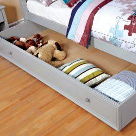 Diane Grey Under-Bed Trundle