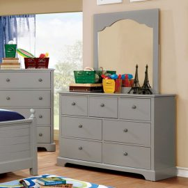 Diane Grey 7 Drawer Dresser