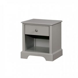 Diane Grey 1-Drawer Nightstand