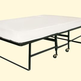 Rollaway bed frame