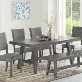 Paradise I Grey Dining Set