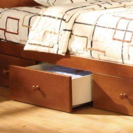 Coney Island Oak Bunk Bed