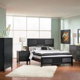 Grove Black bed set